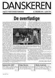 Danskeren nr. 3 - 2001 - Den Danske Forening