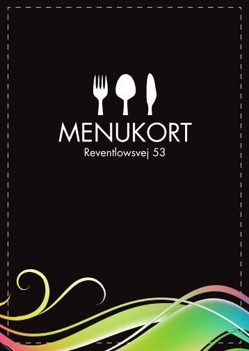 Café Menukort - Cafe Chino