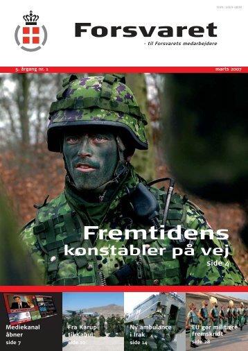 Forsvars bladet nr 1 2007.indd - Forsvarskommandoen
