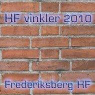 FHF vinkler - Frederiksberg HF Kursus