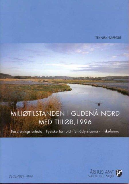 Miljøtilstanden i Gudenå Nord med tilløb, 1996 - Danmarks Insekter
