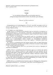 Lovudk vedr digitalisering Høring 131210 - Net