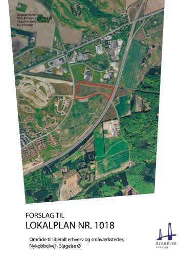 Forslag til lokalplan - Slagelse Kommune