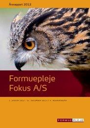 Formuepleje Fokus A/S