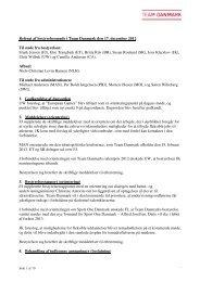 2012 Referat fra mødet den 17. december 2012 - Team Danmark