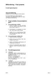 Bilforsikring med fast præmie - Codan Forsikring A/S
