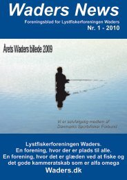 Waders News nr.1 2010 - Lystfiskerforeningen Waders