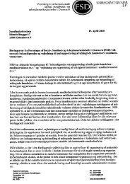 sundheds og arbejdsmarkedschefer i Danmark (FSD) - DPSD