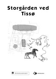 Storgården ved Tissø - Skoletjenesten