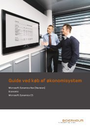 Guide ved køb af økonomisystem - Beierholm