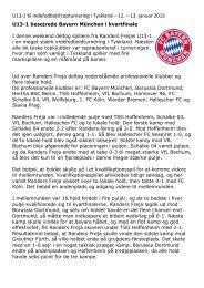 Topturnering indendørs Tyskland 2013 - Randers Sportsklub Freja