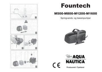 Multipump Fountech 500 - 1600