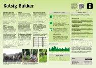 og formidlingstavler - Katsig Bakker - Frederikshavn Kommune