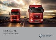 Axor. Actros. - Mercedes-Benz Danmark
