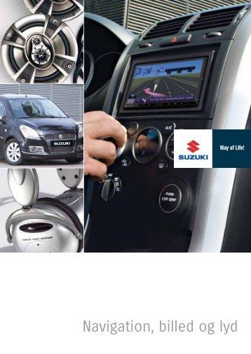 Navigation, billed og lyd - Suzuki.dk