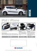Navigation, billed og lyd - Suzuki.dk - Page 6