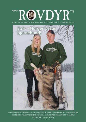 Strix – Norges beste bjørnehund! - Folkeaksjonen for en ny ...