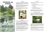 Vandhuller og småsøer - Lyngby Taarbæk Kommune