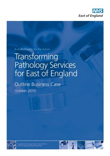 Transforming Pathology Services for East of England