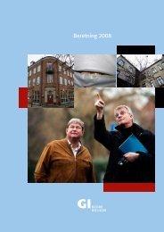 Beretning 2008 - Grundejernes Investeringsfond