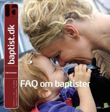 og baptister - Baptistkirken i Danmark