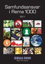 Læs rapporten fra 2011 her - Rema 1000