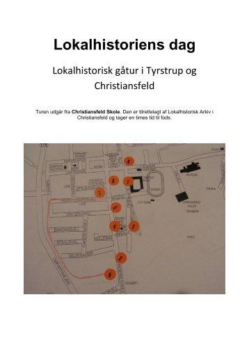 Christiansfeld Skole - tur i Tyrstrup og Christiansfeld