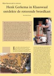 Henk Gerkema in Klaaswaal ontdekte de roterende ... - t Schuurtje