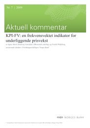 Aktuell kommentAr 7/2009 - Norges Bank