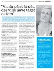 Artiklen i Berlingske kan læses her. - Etikos