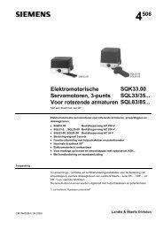 4506 Elektromotorische Servomotoren, 3-punts Voor roterende ...