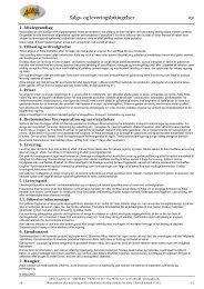 Salgs- og leveringsbetingelser - Albia