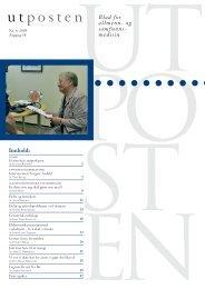 6. utgave av Utposten 2005 (PDF-format)