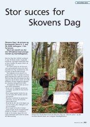 tilbagemeldinger fra arrangører - Dansk Skovforening