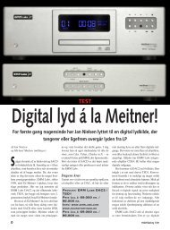 EMM Labs DAC2 konverter og TSD1 løbeværkPriser - Sound Image