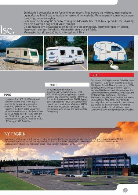 Download brochure - ADRIA DANMARK