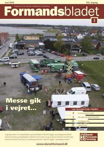Messe gik i vejret… - Dansk Formands Forening