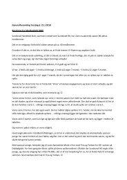 Generalforsamling Torsdag d. 21.1 2010 Beretning fra håndboldafd ...