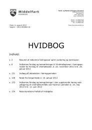 HVIDBOG over indkomne bemærkninger til vindmølleplan, tillæg nr ...
