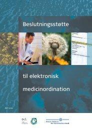 Beslutningsstøtte til elektronisk medicinordination - Dansk Selskab ...