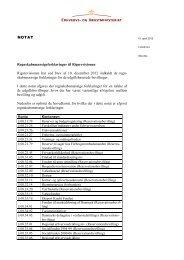 Regnskabsmæssige forklaringer til ... - Erhvervsstyrelsen