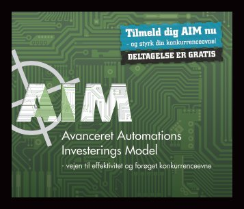 Avanceret Automations Investerings Model - AIM-projektet