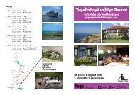 Yogaferie på dejlige Samsø - Dansk Yoga Center