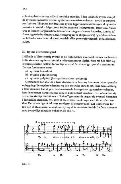 Teresa Waskowska-Larsen A. Elementær rytme