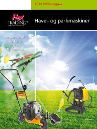 Have- og parkmaskiner - Flex Trading