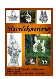 Havedekorationer Katalog - Baaring Handelshus