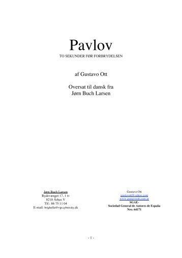 Pavlov DANE 2 - Gustavo Ott