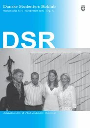 blad 9-09 - Danske Studenters Roklub