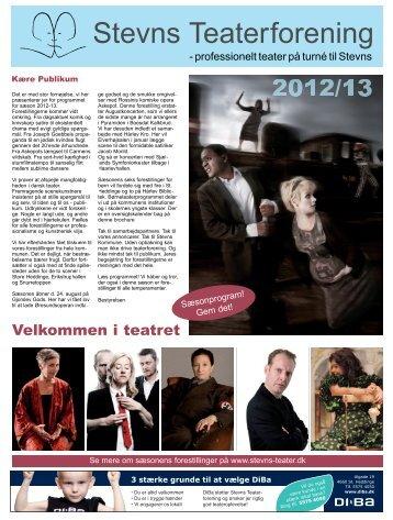 Teater for voksne 2012/13 - stevns-teater.dk
