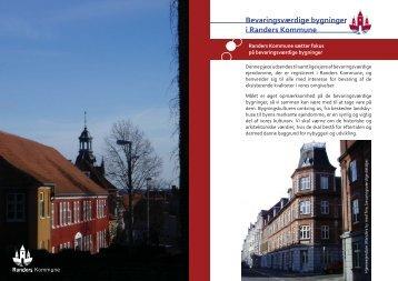 Bevaringsværdige bygninger i Randers Kommune